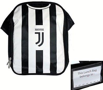 brand new b4d16 85a2e JUVENTUS FC BOYS CHILDS SCHOOL KIDS LUNCH KIT BOX SCHOOL JUVE JFC BAG