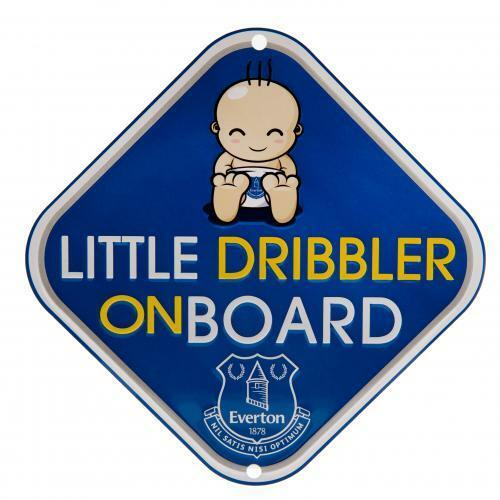 Baby on Board Metal Car Sign Little Spurs Dribbler Tottenham Hotspur F.C.