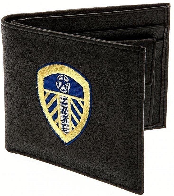 Aston Villa FC Herren Leder Geldb/örse mit Club Wappen