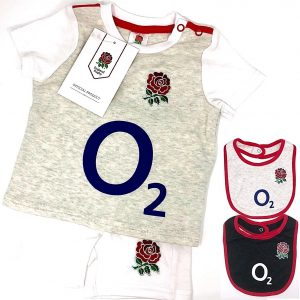 SCOTLAND RFU RUGBY SIX NATIONS BABIES BODY PRAM SUIT SHORT SLEEVE BABY GROW VEST