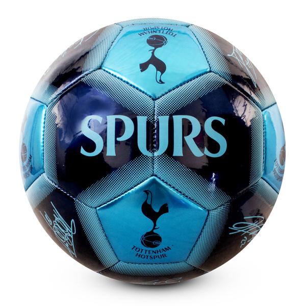 Tottenham Hotspur Fc Adult Size 5 Spurs Ball Signature Football Navy Thfc Stoneycroft Trading